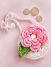 Girl's Flower Purse