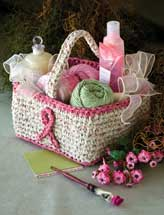 Fabric Gift Basket
