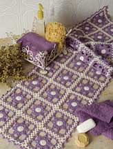 Lilac Blossoms Table Runner