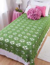 Breath of Spring Coverlet