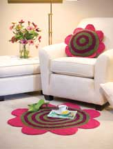 Fun Flowers Pillow & Rug