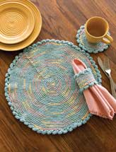 In the Round Place Mat Set