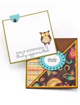 Crisscross Pocket Card