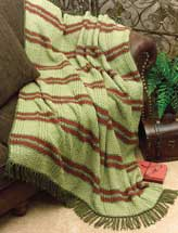 Woven-Look Throw