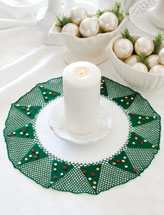 Christmas Tree Doily