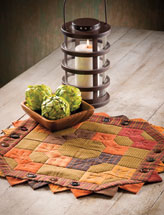 Autumn Ties Table Mat
