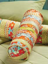 Jelly Roll Bolster Pillow