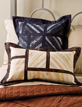 Scrappy String Pillows