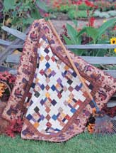 Harvest Four-Patch Quilt