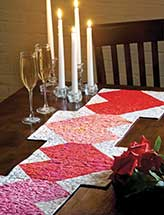 Heart Fire Table Runner