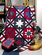 All-American All-Star Quilt and Box
