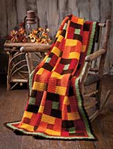 Bricks & Squares Quilt Throw