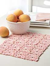 Peaches & Cream Place Mat