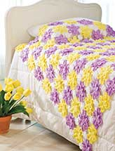 Pretty Posies Throw
