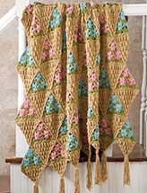 Flower Baskets Afghan