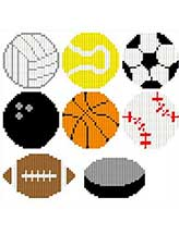 Sports Ball Magnets