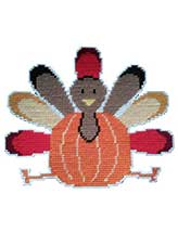 Pumpkin Turkey Wall Hanging