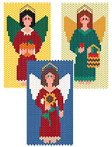 Angels of the Harvest Beaded Banners