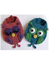 Owl Friends Bib Set