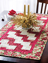 Flourish Christmas Table Runner