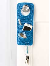 """Don't Forget!"" Doorknob Organizer"