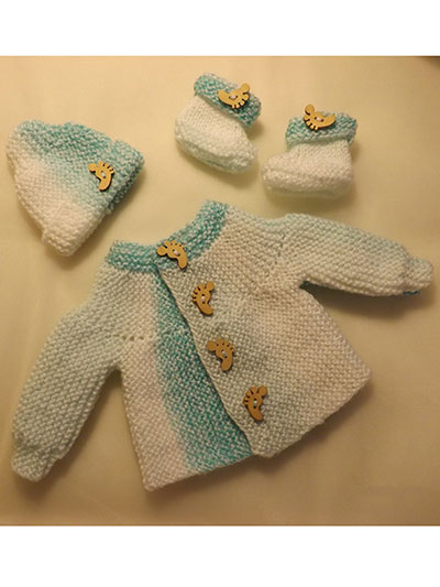 Easy Baby Matinee Set