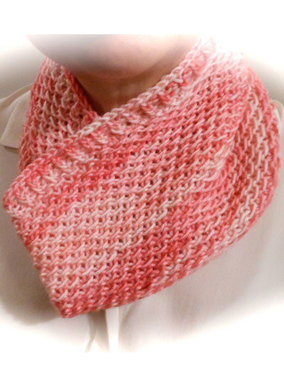 Easy Textured Cowl