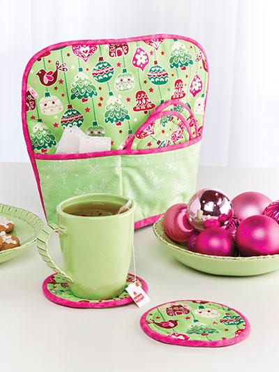Quilting Unique Project Patterns Tea Cozy Amp Mug Rugs