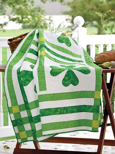 St. Paddy's Picnic Quilt