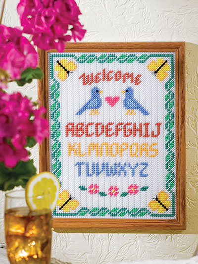 Love Birds Welcome Sampler
