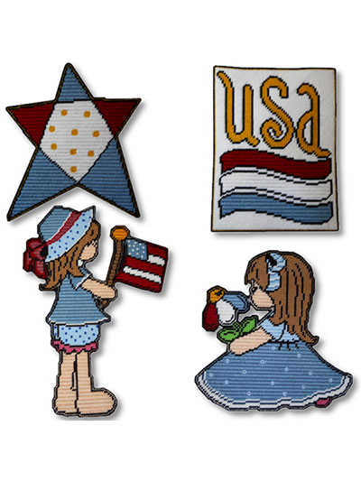 Little Miss Patriot Decor
