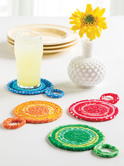Pops of Color Coasters