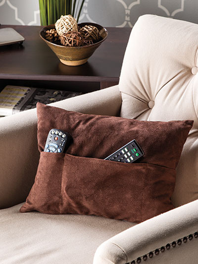 Stowaway Pillow Cover