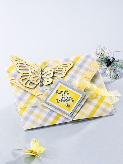 Download Paper Crafting - Butterfly Envelope Card