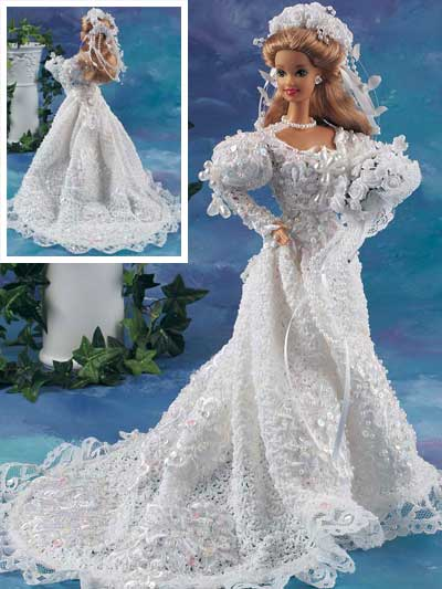 Pearl and Lace Bride