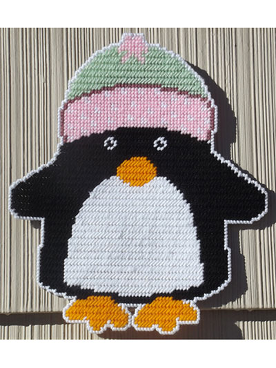 Winter Penguin Wall Hanging