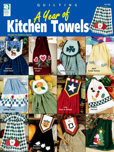 A Year of Kitchen Towels