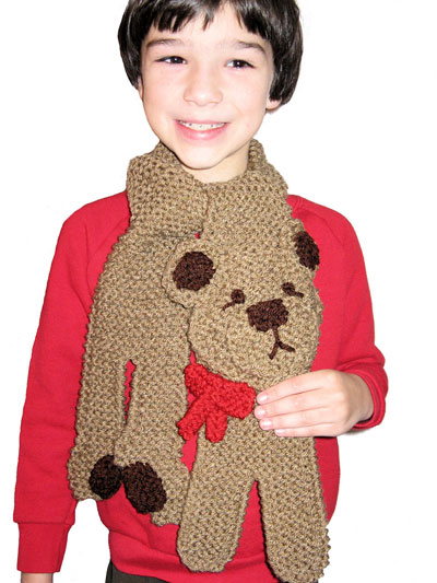 Teddy Bear Scarf
