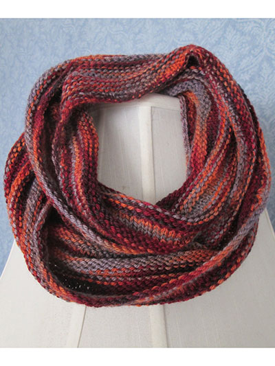 Multicolor Textured Cowl