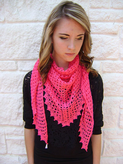 Easy Triangle Scarf/Shawl