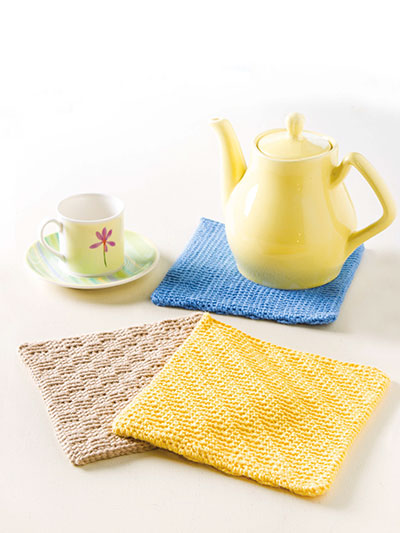 Trio of Pot Holders