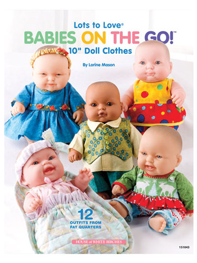 "Lots to Love® Babies on the Go! 10"" Doll Clothes"