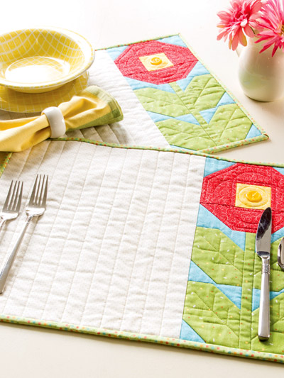 Bloomin' Place Mats