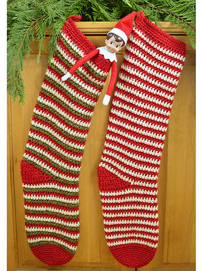 Elf Socks, A Christmas Stocking