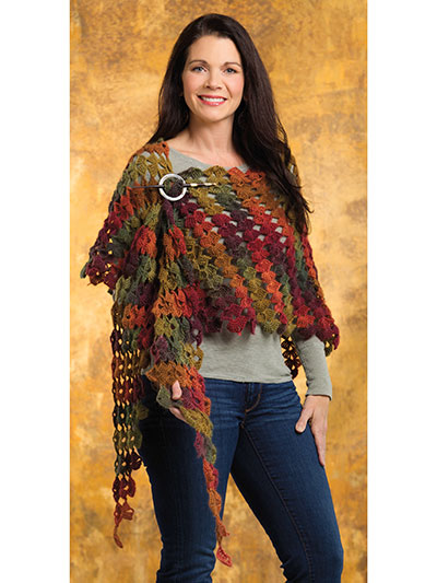 Drifting Leaves Shawl