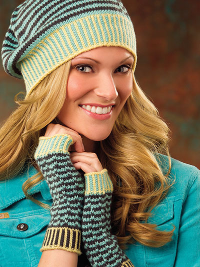 Zig Your Zag Hat & Mitts