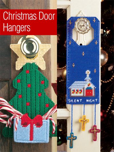 A Year of Door Hangers Plastic Canvas