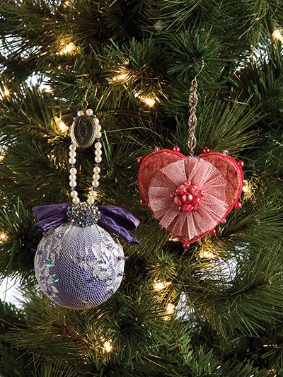 Recycled Clothing Ornaments