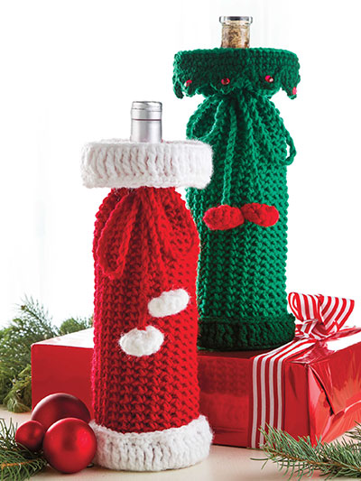 Holiday Wine Sacks