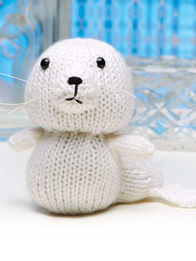Cute-as-Can Be Baby Seal